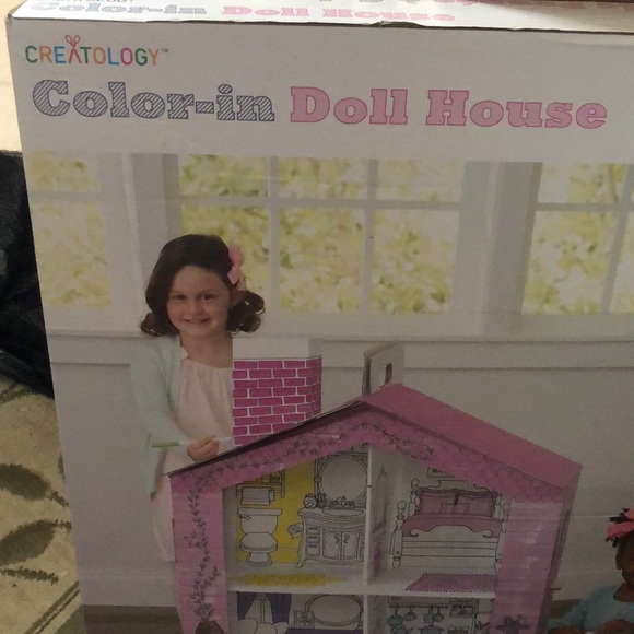 Createilogy Other - Color in dollhouse